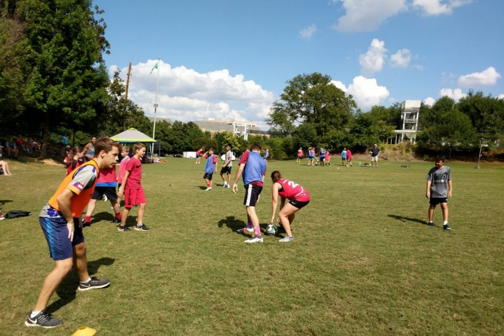 Touch Rugby at Georgia Teach