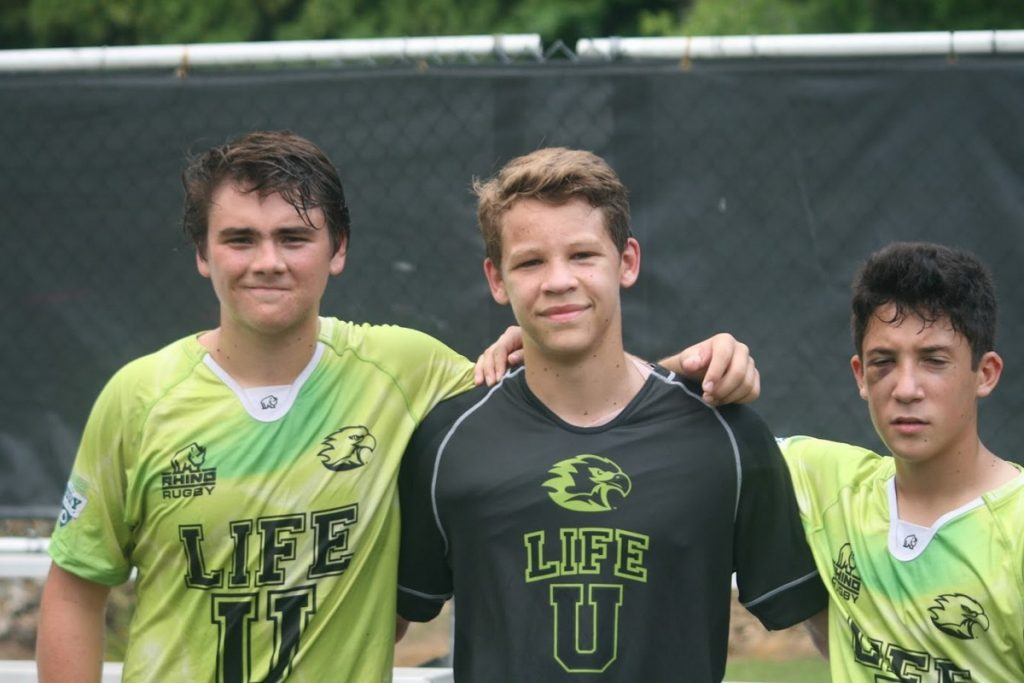 High School Rugby camp Friends at Life University